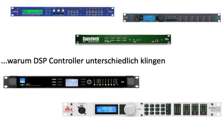 Warum DSP Controller unterschiedlich klingen
